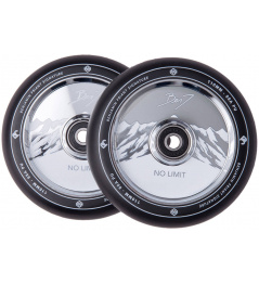 Striker Benj No Limit wheels 110mm black / chrome 2pcs
