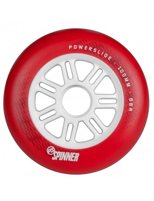 Kolečka Powerslide Spinner Red (1ks)