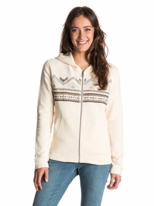 Roxy Sweatshirt White Canyon 119 tdr0 metro 2016 women's vell.M