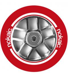Wheel Nokaic Spoked 110mm Red