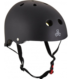 Helmet Triple Eight Brainsaver 2 MiPS S / M black