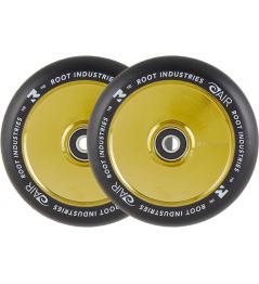 Wheels Root Industries Air Black 110mm 2pcs Gold Rush