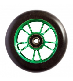 Blunt 10 Spokes 100 mm black green wheel