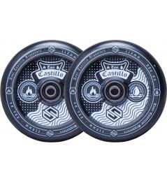 Striker wheels Toni Castillo 110mm Black