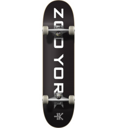 Zoo York Logo Block Complete Skateboard (8 "
