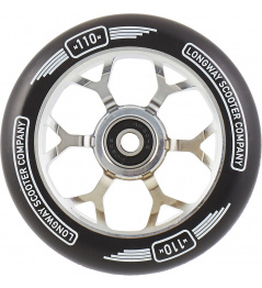 Wheel Longway Precinct 110mm Silver
