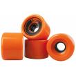 AOB wheels 4 pieces orange