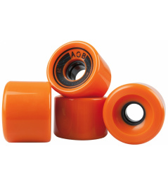 AOB wheels 4 pieces orange