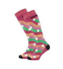 Socks Horsefeathers Kris raspberry 2020/21 vell.5-6