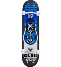 "Blueprint Skateboard Babushka V2 8 ""Blue"