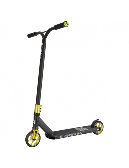 Chilli Reloaded Rebel freestyle scooter green