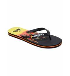 Quiksilver Flip Flops Molokai Fire black / yellow 2019 vell.EUR45