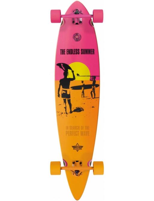 Longboard Dusters Endless Summer yellow / orange / pink