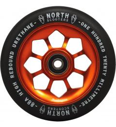 North Pentagon 120mm Black / Copper wheel
