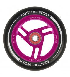 Bestial Wolf Race 100 mm wheel black pink