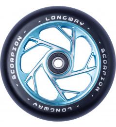 Longway Scorpion wheel 110mm turquoise