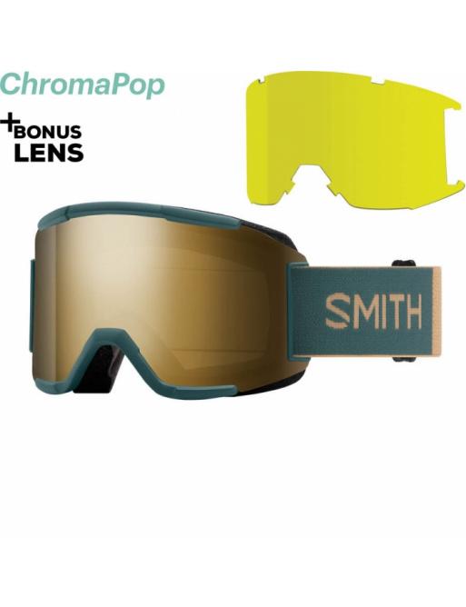 SMITH Squad spruce safari / chromaPop sun black 2020/21 goggles