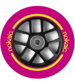 Wheel Nokaic Spoked 110mm Pink