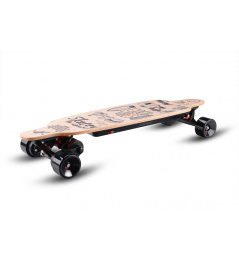 Electric longboard Skatey 3200L wood art