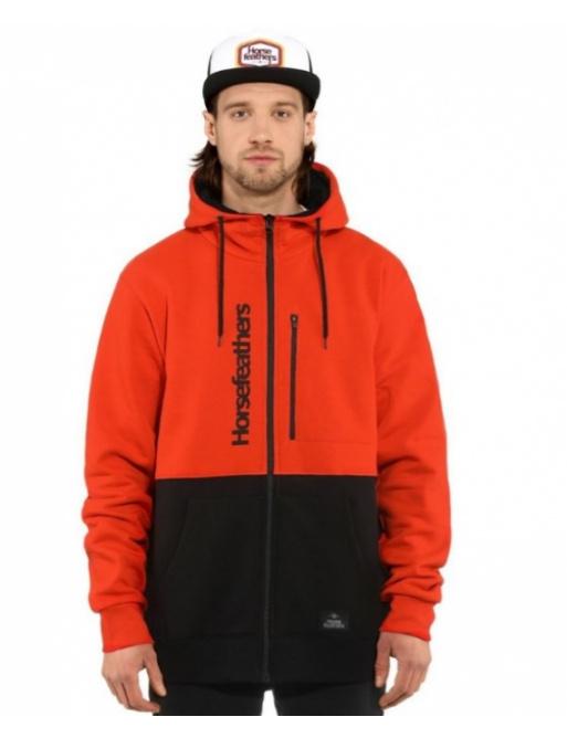 Sweatshirt Horsefeathers Zach tomato red 2021 vell.XXL