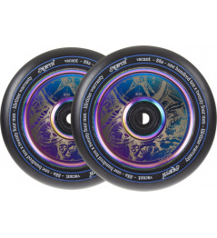 North Vacant V2 Pro Scooter Wheels 2 Pack (110mm | Oilslick)