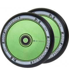Wheels Root Industries Air 120mm green 2pcs