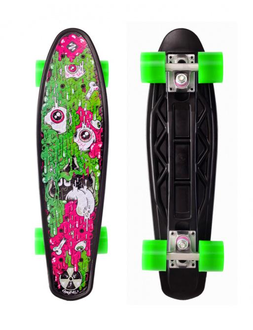 Skateboarding Street Surfing FUEL BOARD Melting - artist series