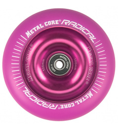 Metal Core Radical Fluorescent 110 mm circle violet