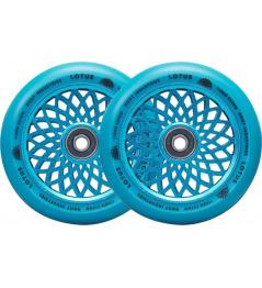 Root Lotus wheels 110x24mm Radiant Blue 2pcs