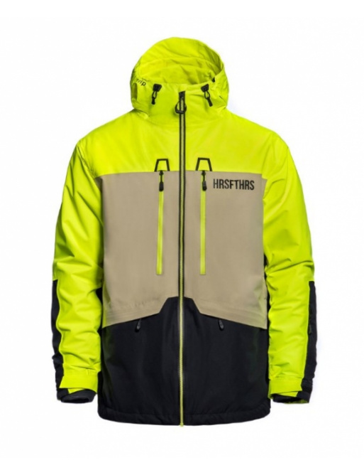 Jacket Horsefeathers Crescent Atrip limeade 2020/21 vell.XL