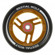 Bestial Wolf Race 100 mm round black orange