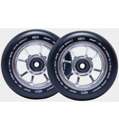 Wheels North Signal 110mm silver 24mm