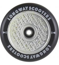Longway FabuGrid wheel 110mm Matt Silver