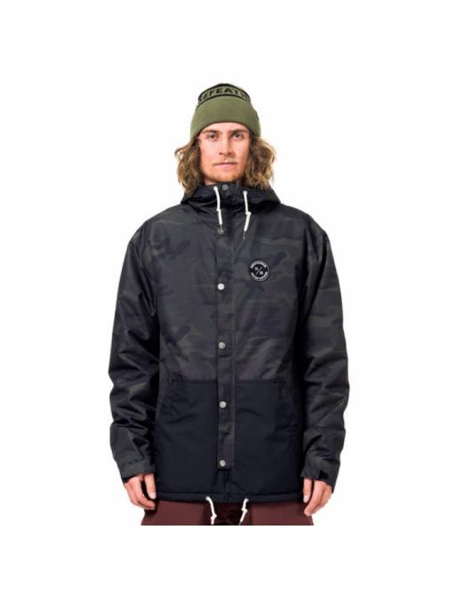 Horsefeathers Jacket Erebus black camo 2017/18 vell.S