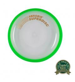 Flying plate Aerobie SUPERDISC green