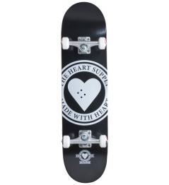 "Skateboard Heart Supply Logo 8 ""Badge Black"