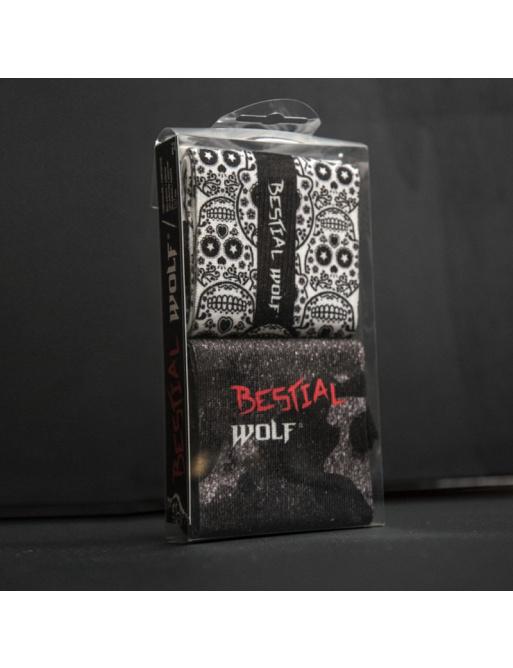 Bestial Wolf Socks Camo / Skull 40-44