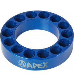 Headset spacer Apex 10mm blue
