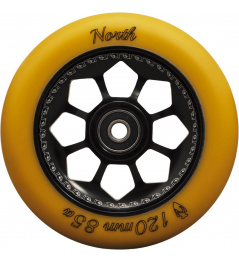 North Pentagon 120mm Gum / Black wheel