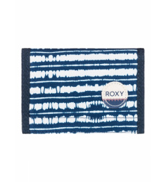 Roxy Beach Glass Wallet 277 bta3 blue depths olmeque stripe 2017 women's