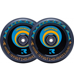 Wheels for scooter Root Air Undialed 2-Set 120mm Orange