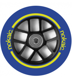 Wheel Nokaic Spoked 110mm Blue