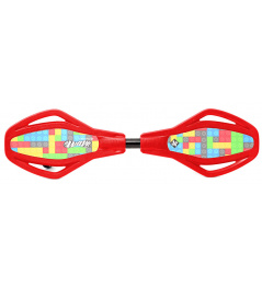 Waveboard Street Surfing MINI SL Ground Play Red, Kids'