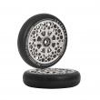 Wheels Oath Stalker 115mm silver 2pcs