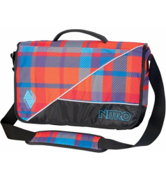 Nitro Evidence plaid red / blue 2013/14