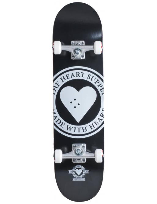 "Skateboard Heart Supply Logo 7.75 ""Badge black"