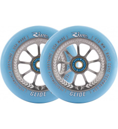 River Glide Juzzy Carter Wheels 110mm Serenity 2pcs
