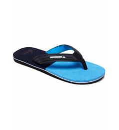 Quiksilver Flip Flops Molokai Eclipsed Deluxe black / gray / blue 2019 \ t