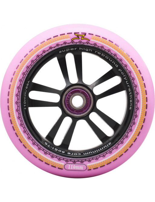 Kolečko AO Mandala 115mm růžové