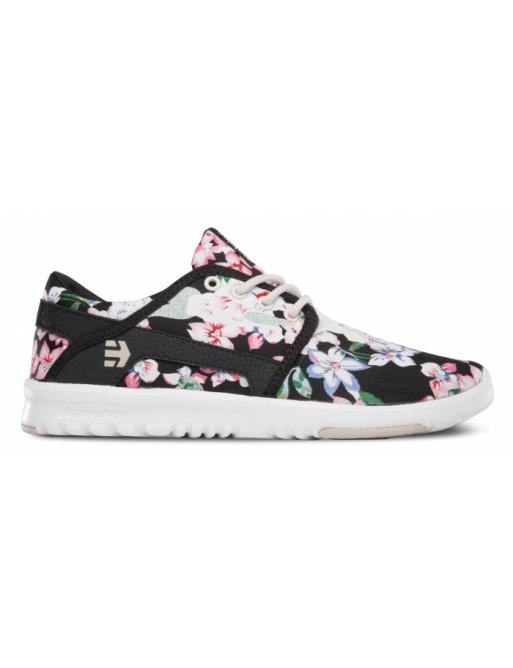 Etnies Shoes Scout black / floral 2016 Ladies vell.EUR38